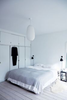 Modern bedroom design ideas with minimalist touch 34