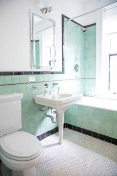 Modern small bathroom tile ideas 006