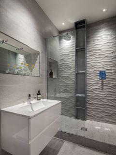 Modern small bathroom tile ideas 013