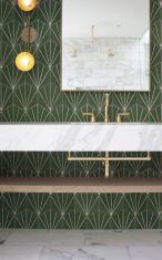 Modern small bathroom tile ideas 024