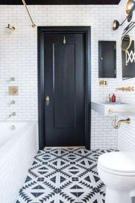 Modern small bathroom tile ideas 034