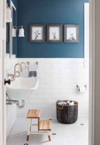 Modern small bathroom tile ideas 052