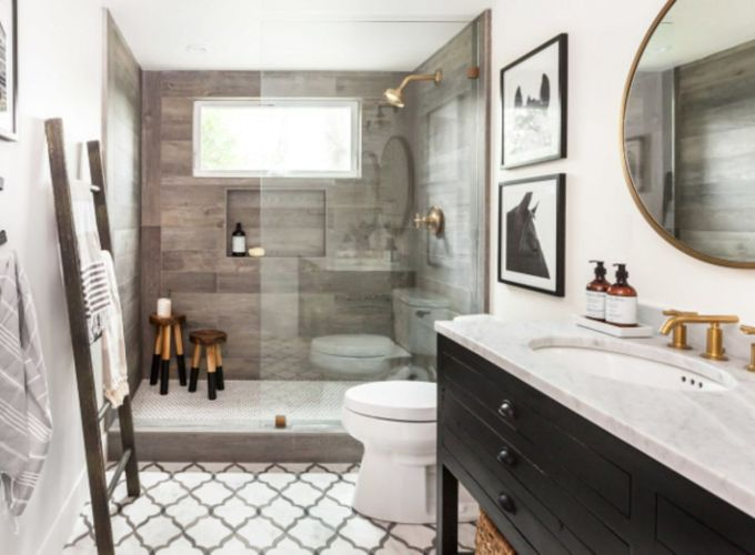 Modern small bathroom tile ideas 101