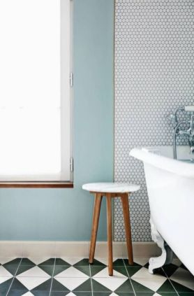 Modern small bathroom tile ideas 116