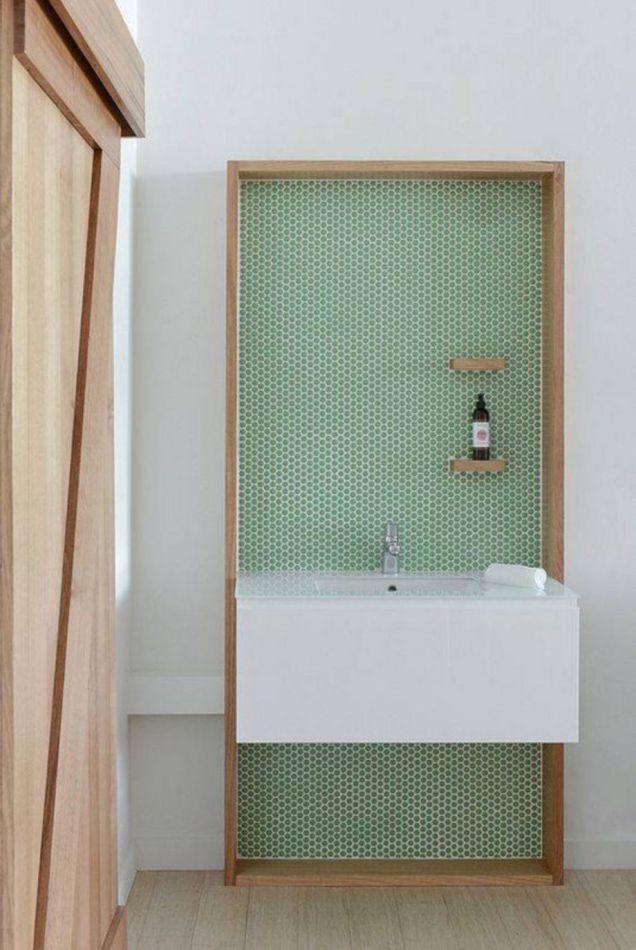 Modern small bathroom tile ideas 122