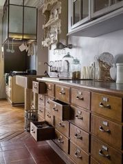 Old kitchen cabinet 10