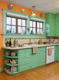 Old kitchen cabinet 52