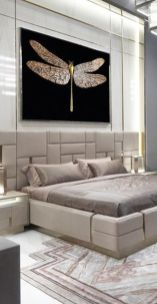 Stunning bedrooms interior design with luxury touch 25