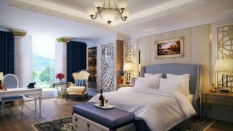 Stunning bedrooms interior design with luxury touch 52