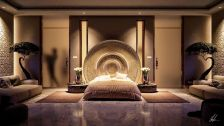 Stunning bedrooms interior design with luxury touch 61