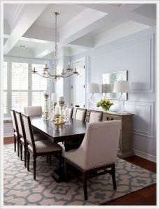 Stunning dining room area rug ideas 12