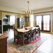 Stunning dining room area rug ideas 13