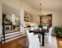 Stunning dining room area rug ideas 21