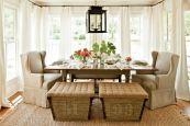 Stunning dining room area rug ideas 43