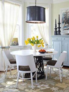 Stunning dining room area rug ideas 51