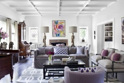 Stunning gray and white living room decor ideas 49
