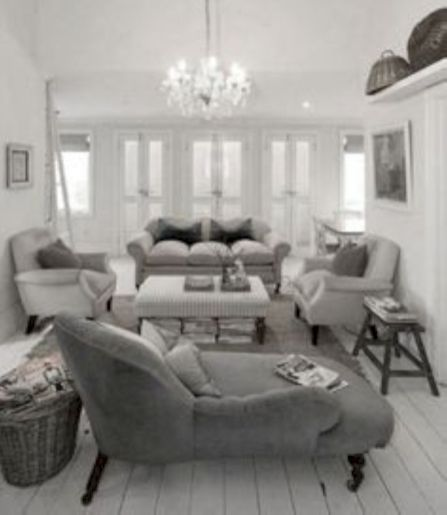 Stunning gray and white living room decor ideas 61