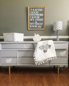Stunning grey chalk paint furniture 16