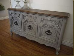 Stunning grey chalk paint furniture 26