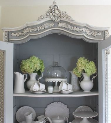 Stunning grey chalk paint furniture 29