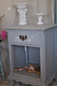 Stunning grey chalk paint furniture 33