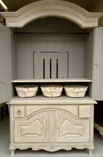 Stunning grey chalk paint furniture 36