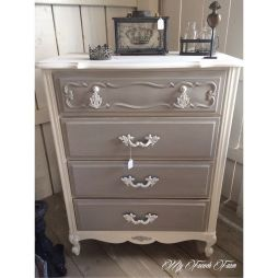 Stunning grey chalk paint furniture 46