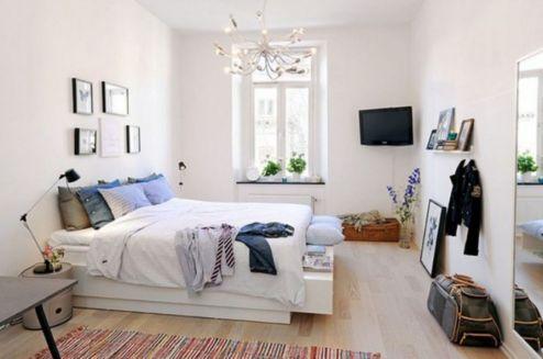 Stunning small apartment bedroom ideas 01