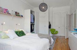Stunning small apartment bedroom ideas 20