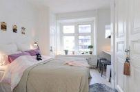 Stunning small apartment bedroom ideas 30
