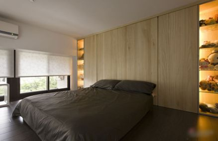 Stunning small apartment bedroom ideas 40