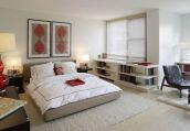 Stunning small apartment bedroom ideas 67