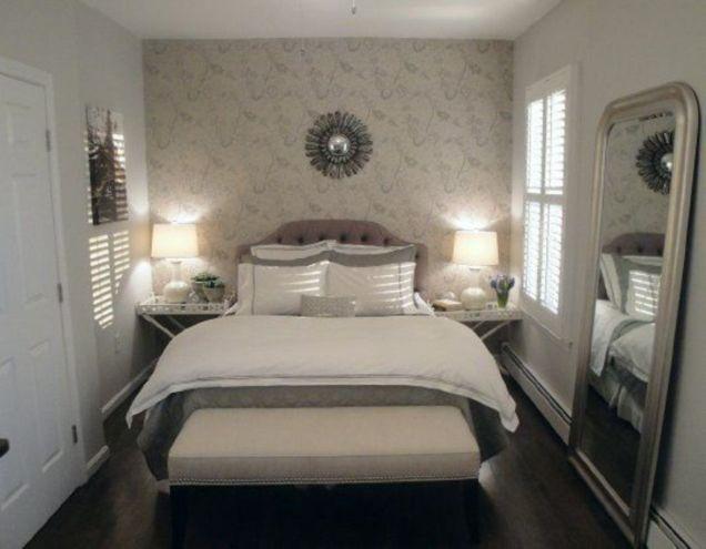 Stunning small apartment bedroom ideas 84