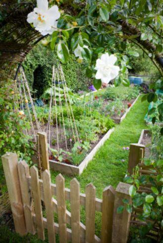 Stunning vegetable garden fence ideas (8)
