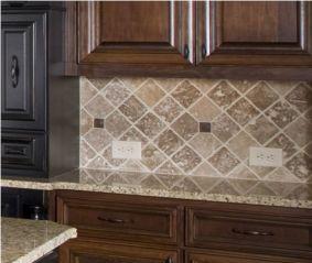 Stylish dark brown cabinets kitchen 19