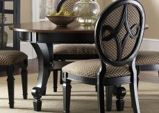 Stylish painted dining room table 11