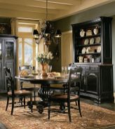 Stylish painted dining room table 44