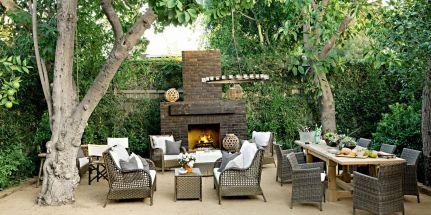 Stylish small patio furniture ideas 55