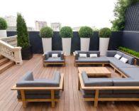 Stylish small patio furniture ideas 76