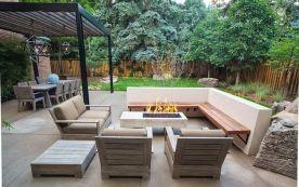 Stylish small patio furniture ideas 80