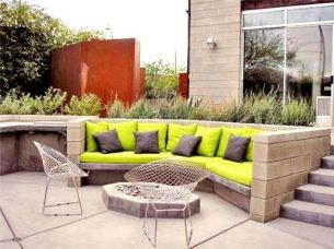 Stylish small patio furniture ideas 84