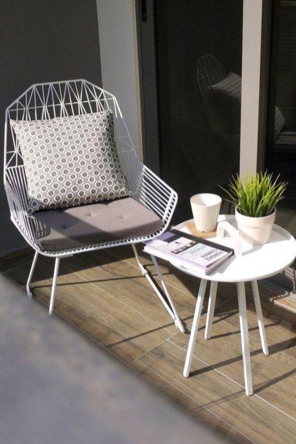 Stylish small patio furniture ideas 86