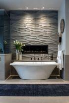 Stylish white subway tile bathroom 21