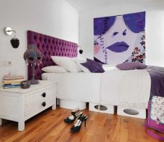 Stylish wooden flooring designs bedroom ideas 01