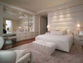 Stylish wooden flooring designs bedroom ideas 19