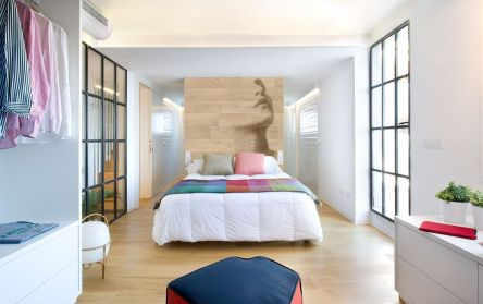 Stylish wooden flooring designs bedroom ideas 27