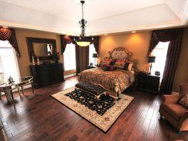 Stylish wooden flooring designs bedroom ideas 39