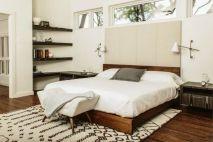 Stylish wooden flooring designs bedroom ideas 71