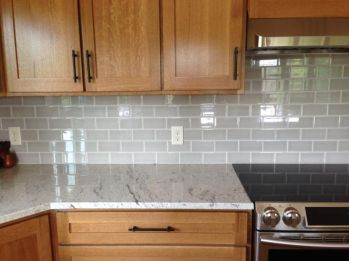 Wood and glass kitchen cabinets 36