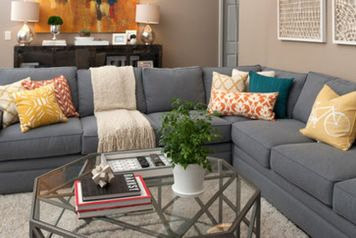 Adorable burnt orange and teal living room ideas 28